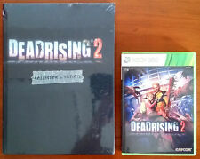 Xbox 360 Game - Deadrising 2 c/w New & Sealed Collector's Edition Official Guide
