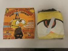 Vintage Kooky Spooks Costume! WONDER WITCH ! Giant Blow-Up Costume Kit! NICE!