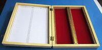 Microscope slide Box for 100 Slides