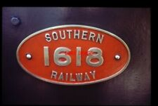 PHOTO  NUMBERPLATE FOR SR LOCO NO 618