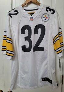 Nike On Field Pittsburgh Steelers NFL Franco Harris Away Jersey HOF Large New