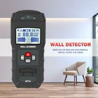 Portable LCD Digital Wall Detector Metal Wood Studs Finder AC Cable Wire Scanner