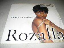 "ROZALLA LOSING MY RELIGION 12"" Single EX Epic 49-78023 1995"