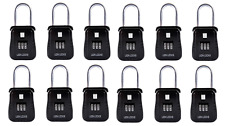 Pack of 12 lockbox key lock box for realtor real estate 3 digit