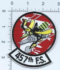 USAF PATCH 457  FIGHTER SQUADRON US AIR FORCE SQUADRON PATCH