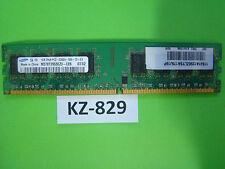 1gb Samsung ddr2-667 di RAM pc2-5300u 2rx8 m378t2953ez3-ce6 30r5126 #kz-829