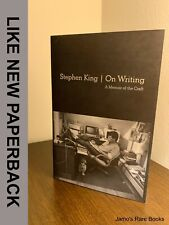 On Writing : A Memoir of the Craft STEPHEN KING Softcover 1ST EDITION Book