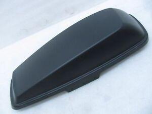 Harley-Davidson Black Denim Saddle Bag Lid Cover Right Hand 90201056BYM RRP:£380