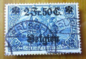 EBS Germany 1914 - World War I - Occupied Belgium - Michel 9 Used (908