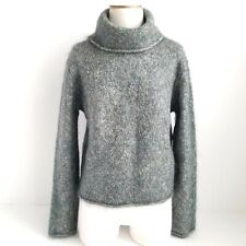 Banana Republic Turtleneck Mohair Sweater Womens L Pullover Soft Knit Multicolor