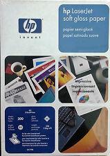 Papel HP Laserjet soft gloss (satinado suave) A4, 200 hojas