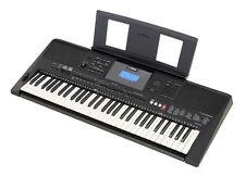 Yamaha PSR E453 Keyboard mit Notenpult + Netzadapter + Handbuch - 443 Nachfolger