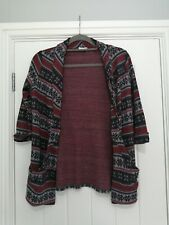River Island Mix Wool ladies Cardigan Size 6
