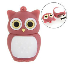16GB USB 2.0 Memory Stick Flash Pen Drive Storage Cute Owl Red P6Q3