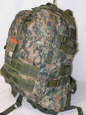 Survival Backpack Digital Woodland Fox Outdoor Large Molle Military Hiking NEW