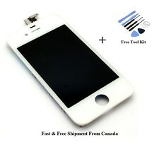 New White Replacement lcd digitizer assembly for iPhone 4 4g GSM + Tools