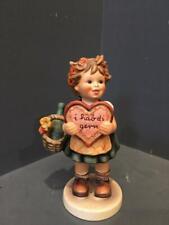 HUMMELS   Valentine Gift. 1972 #387. Collectors Special Edition TMK-5.