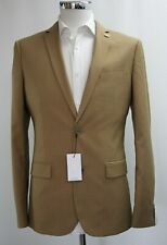 Men's Farah Skinny Fit Golden Tan Blazer (38R)..Sample 6112