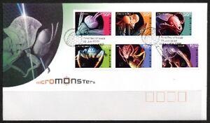 2009 Australia - Micro Monsters FDI FDC