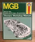 Owners' Workshop Manual Ser.: MGB - 1962 Thru 1980 Roadster and Gt Coupe -...