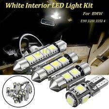 14pcs White Interior 12V LED Fog Light Lamp Kit For BMW 3 Series E90 328i 335I 4