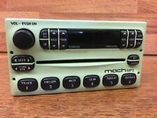 Ford MACH single MP3 CD player FM RADIO Mustang Ranger F150 F250 F350 Green-Rare