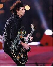 KEITH RICHARDS 3 REPRINT 8X10 AUTOGRAPHED SIGNED PHOTO PICTURE ROLLING STONES RP