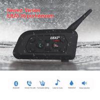 EJEAS V6 Pro 1200M Wasserdichte Motor Bluetooth Helm Intercom Headset Handy