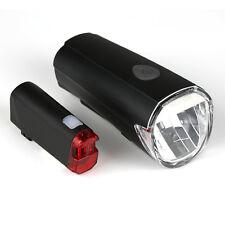 Fahrrad LED Beleuchtungsset 30Lux, StVZO zugelassen, Batteriebetrieb