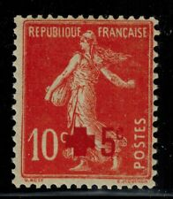 France timbre type semeuse croix rouge N° 146 Neuf ** MNH