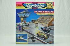Micro Machines Big Daddy's Drag Strip Hiways Byways NIB 1996 Lewis Galoob 65322