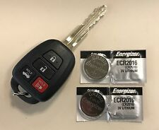 2X ENERGIZER BATTERIES FOR TOYOTA CAMRY CR2016 (FITS: CAMRY 2000+)