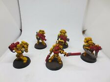 Warhammer 40K Iron Fist Space Marines Devastator Squad (5) Painted Set B G146