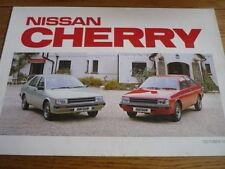 NISSAN CHERRY BROCHURE 1982 83 jm