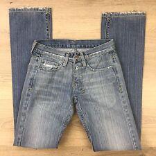 Tsubi Scooter Streaky Baywash Slim Straight Women's Jeans Size 6 W26 L32.5 (AG3)
