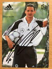 Oliver Neuville AK DFB 2000 Autogrammkarte original signiert (8/00)