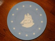 Vintage Wedgwood Jasperware American's Heritage The West - By Sea