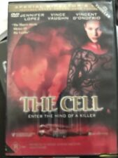 The Cell (DVD, 2002) Jennifer Lopez, Vince Vaughn - Free Post!