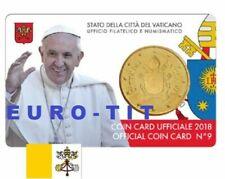 Pièces euro du Vatican année 2018 50 Cent