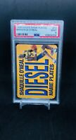1999 Skybox Hoops NAME PLATES #10 SHAQUILLE O'NEAL PSA 9 MINT RARE LOW POP!