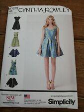 Simplicity 1873 Uncut Cynthia Rowley Dress 2 Lengths Short Loose Jacket US 6-14