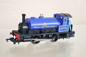 HORNBY DCC FITTED HIGHLAND RAILWAY 0-4-0 SADDLE TANK LOCOMOTIVE LOCHNESS nz