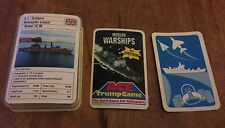 Ace Trump Juego modernos buques de guerra 32 Tarjetas + título/Alemania Occidental