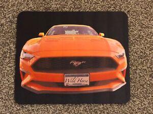 Ford Mustang Mousemat Orange