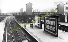 Ilford Railway Station Photo. Manor Park - Seven Kings. Great Eastern Rly. (3)