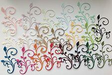 Ganga Paquete De 20 cheey Lynn extravagantes florecer Die-Recortes (varios colores)