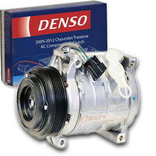 Denso AC Compressor & Clutch for Chevrolet Traverse 3.6L V6 2009-2012 HVAC bk