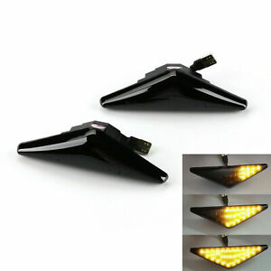 Dynamic Flow LED Marker Side Turn Signal Lights Indicators For Ford Falcon XT FG