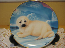 Franklin Mint Heirloom Seal On His Own By Wepplo Limited Edition Plate