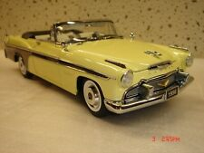 Danbury Mint 1956 DeSoto Fireflite Conv. 1/24 w/ both boxes NR